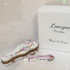 Limoges Rochard Violin & Case w/ Rose Design NIB